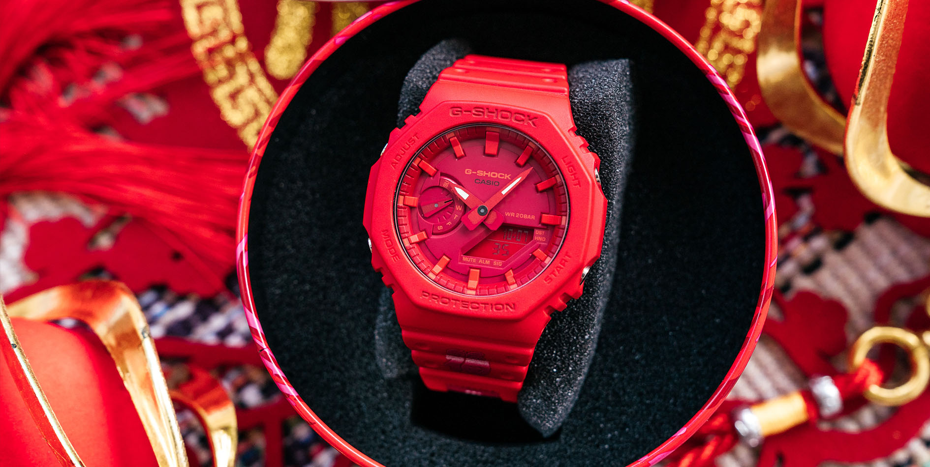 "Jahan Celebrates ""Lunar Rat Year"" With G-SHOCK"