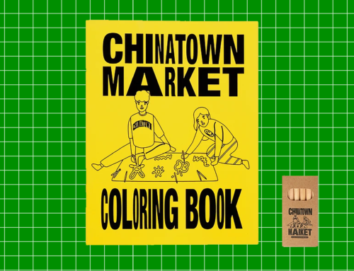 Relax And Collab With Chinatown Market's New Coloring Book