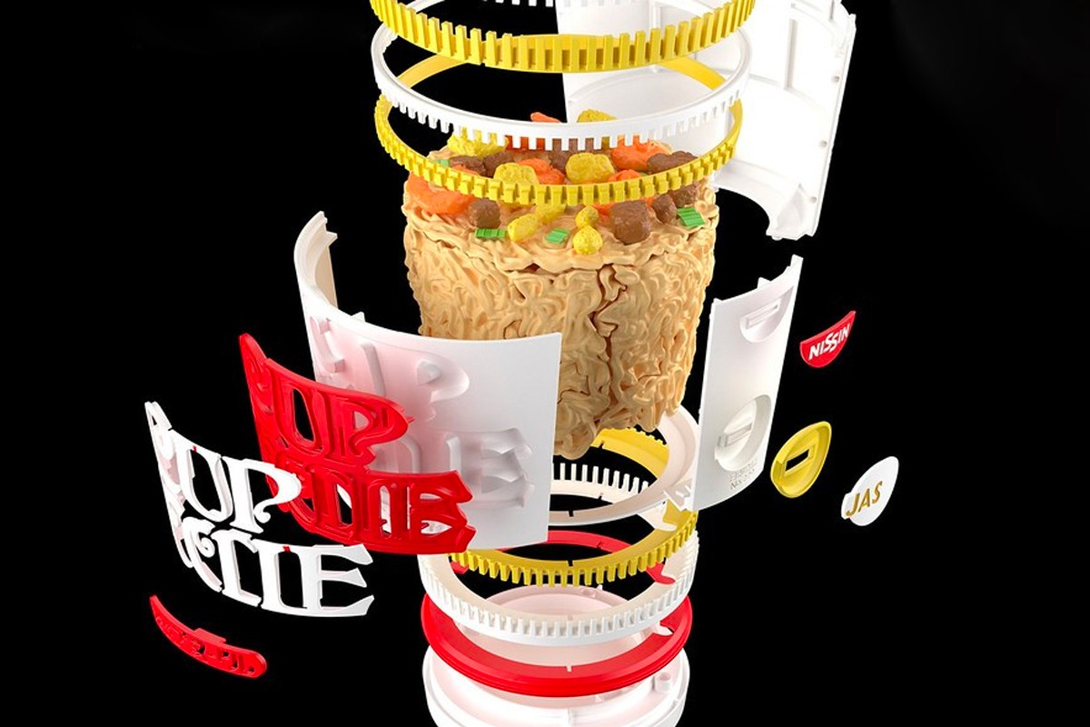 Here's A Nissin Cup Noodle Model By Bandai SPIRITS x Nissin